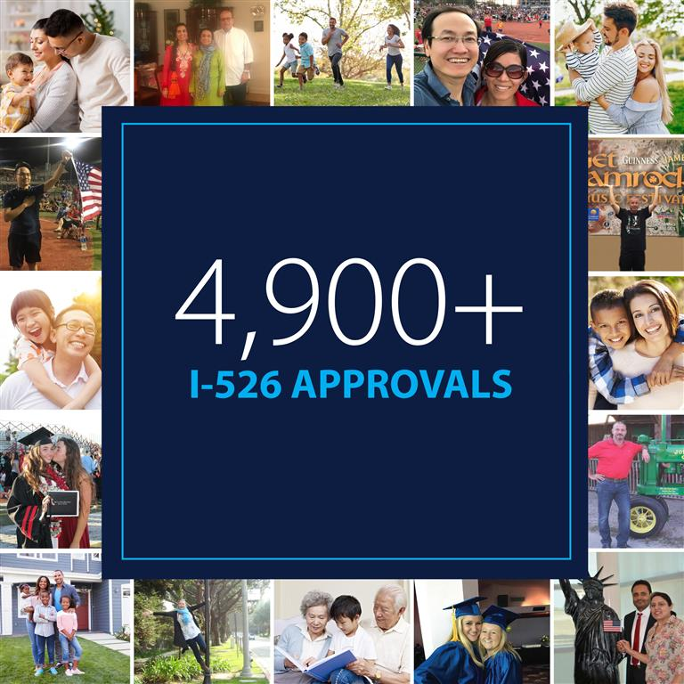 4900 EB-5 I-526 Approvals
